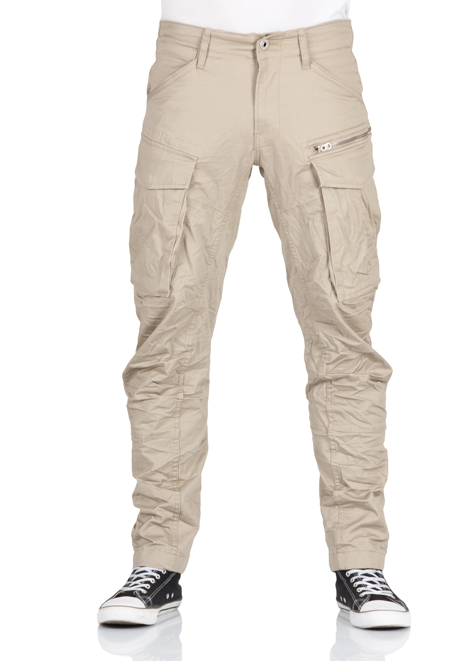 g star herren cargo hose rovic zip 3d tapered beige dune kaufen jeans direct de. Black Bedroom Furniture Sets. Home Design Ideas