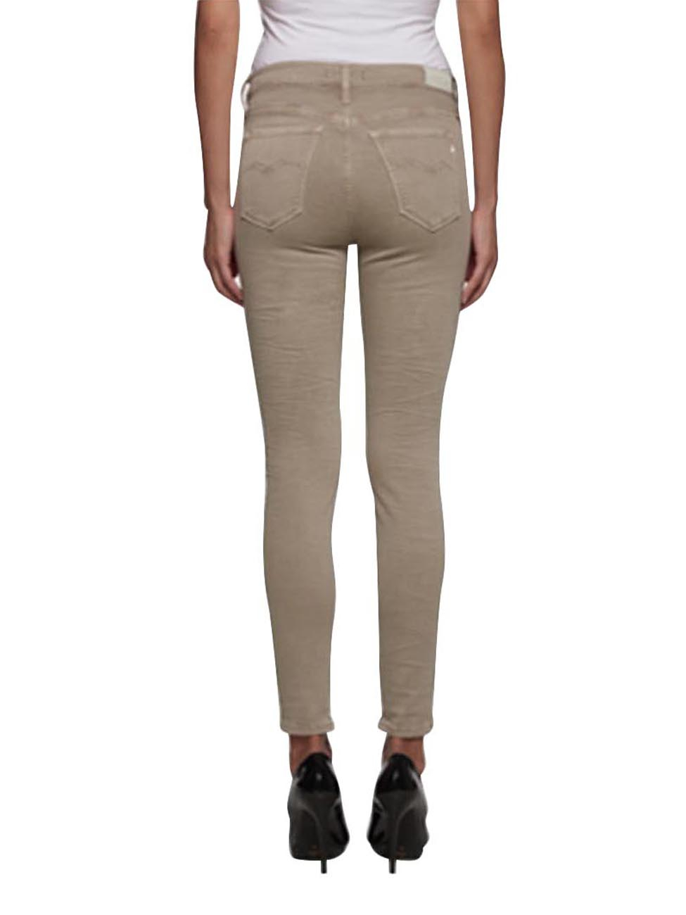 replay damen jeggings joi skinny fit beige sand kaufen jeans direct de. Black Bedroom Furniture Sets. Home Design Ideas