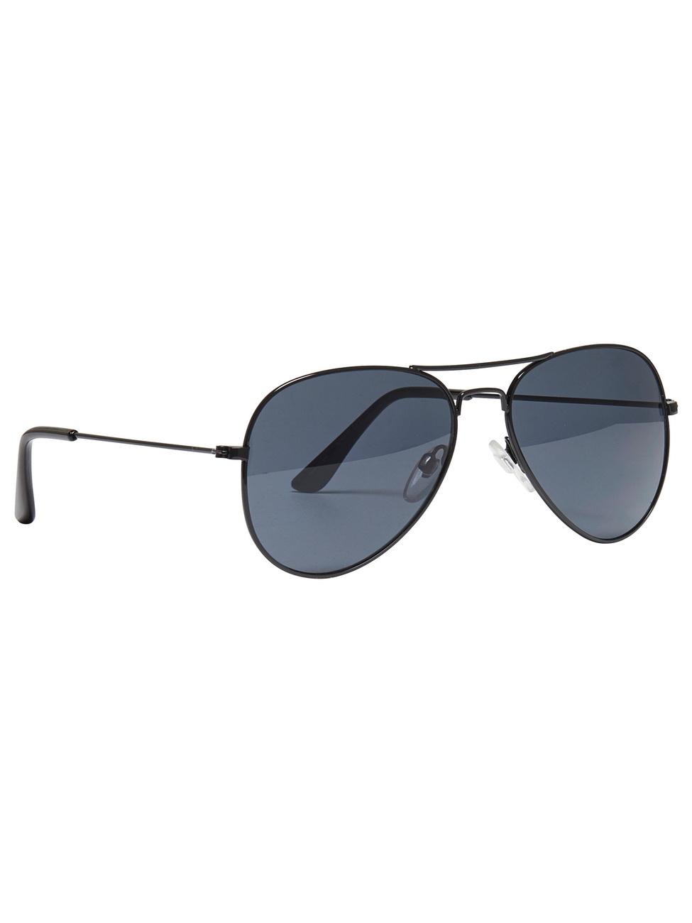 Only Damen Sonnenbrille onlSUNGLASSES BASIC schwarz wXWdT