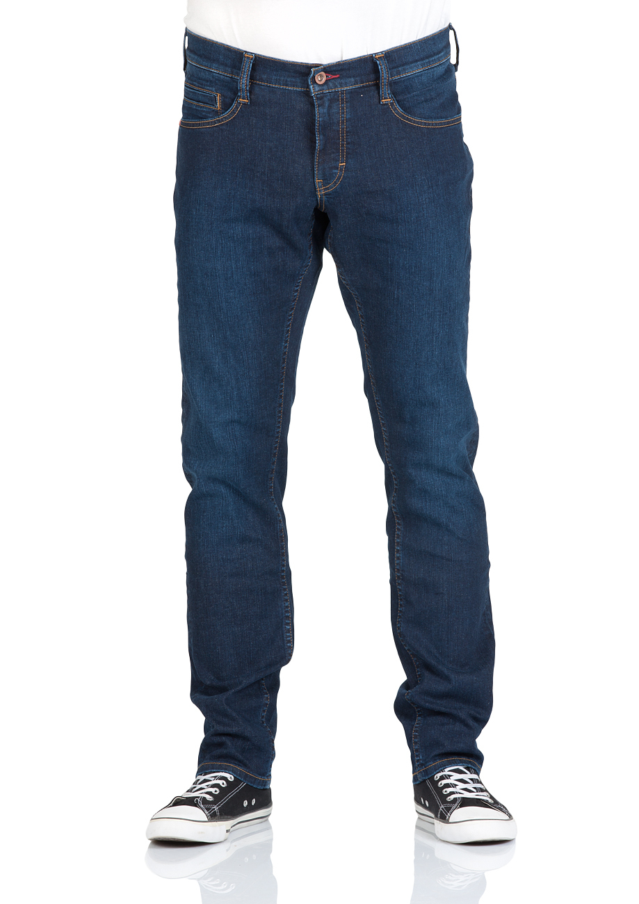 Mustang Herren Jeans Oregon - Tapered Fit - Blau - Strong Blue - Light Blue