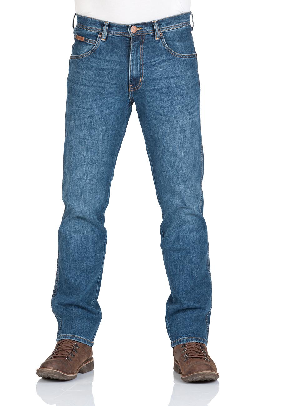 wrangler herren jeans arizona regular fit blau blue rocks blue dimension ebay. Black Bedroom Furniture Sets. Home Design Ideas
