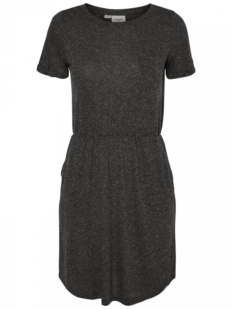 vero moda damen kleid vmlua ss short dress kaufen jeans. Black Bedroom Furniture Sets. Home Design Ideas