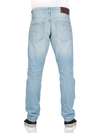 G-Star Herren Jeans 3301 Tapered Fit - Blau - Vintage Light Aged   eBay 2e729593c3