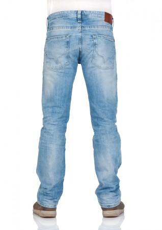 7a7ad90fe888 Pepe Jeans Men s Jeans Kingston Zip - Regular Fit - Blue - Denim   eBay