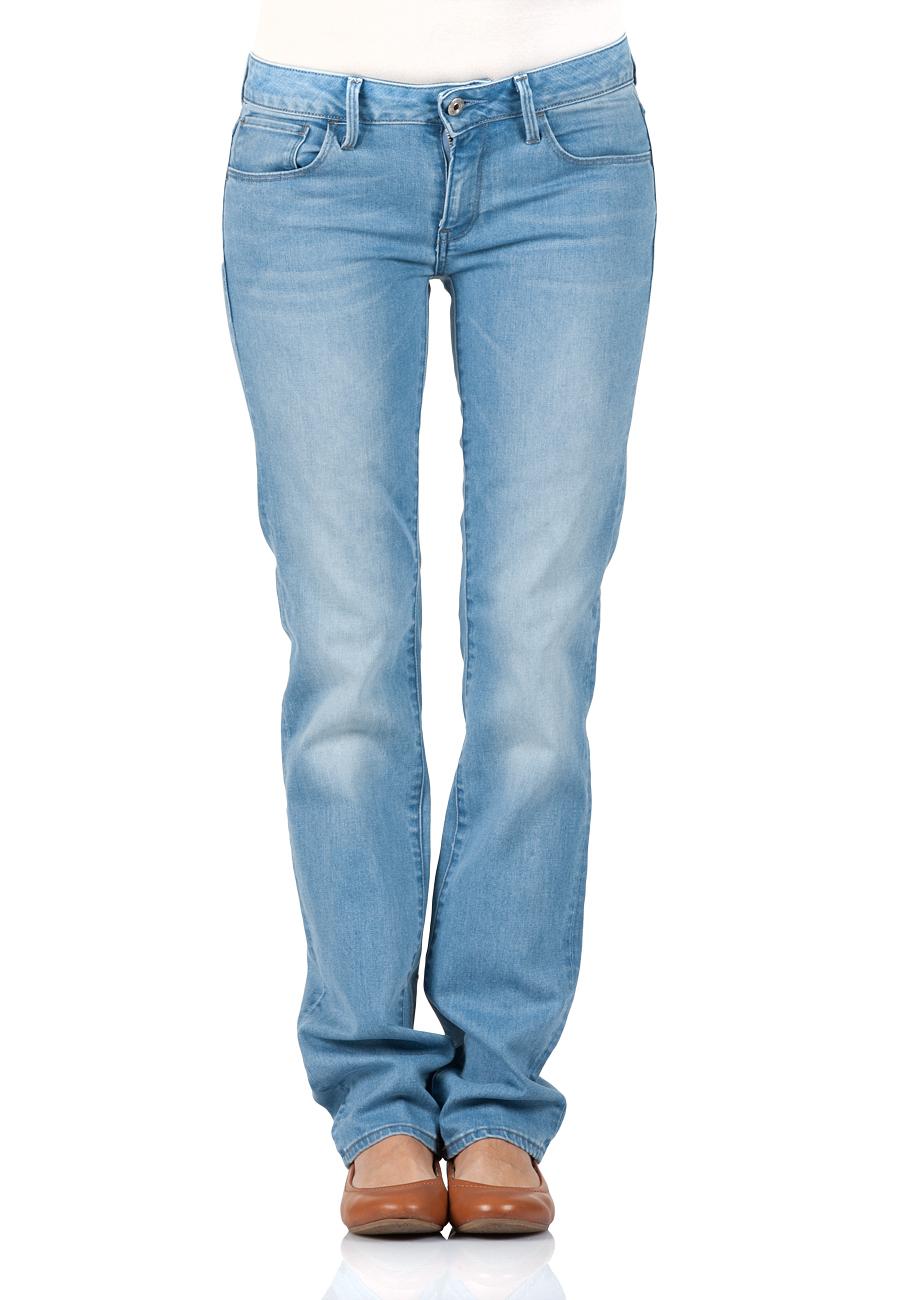 g star damen jeans 3301 deconstructed mid waist straight fit blau blue kaufen jeans direct de. Black Bedroom Furniture Sets. Home Design Ideas