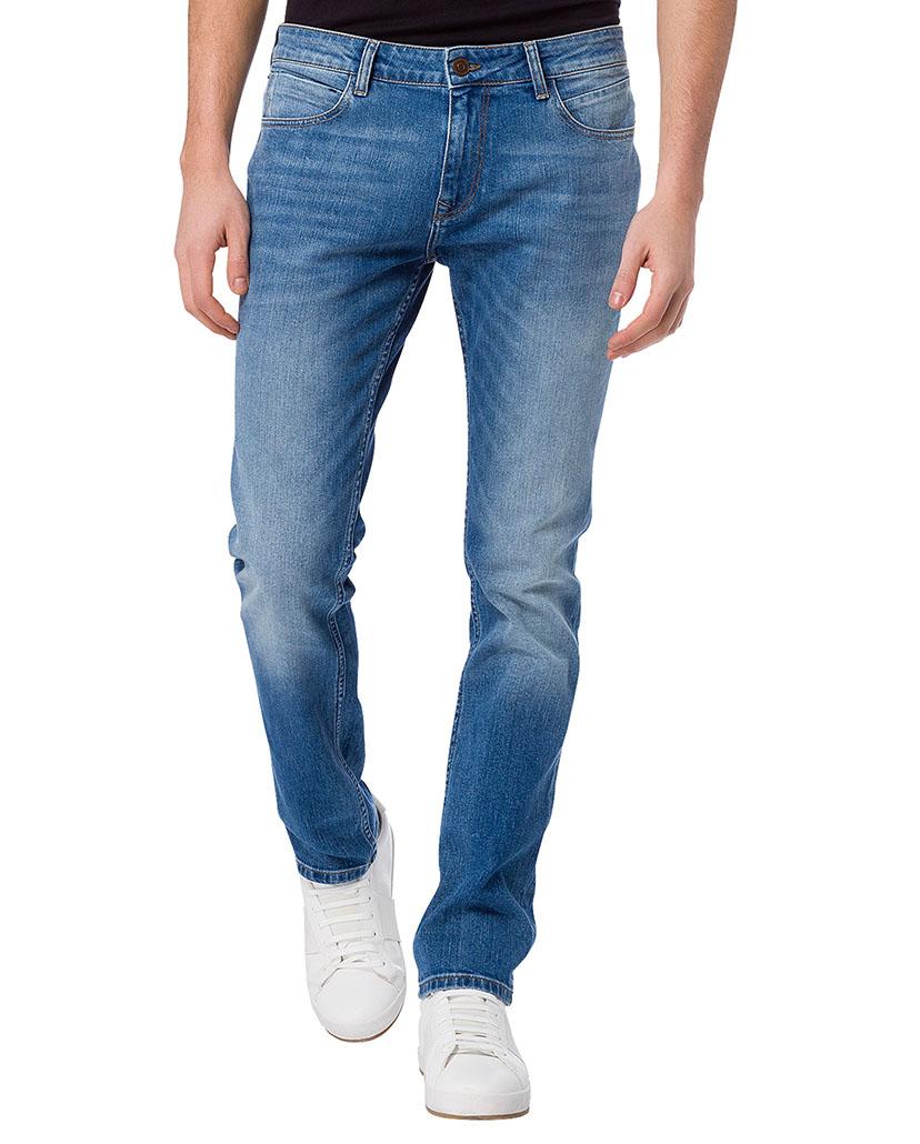 cross herren jeans johnny slim fit blau mid blue kaufen jeans direct de. Black Bedroom Furniture Sets. Home Design Ideas