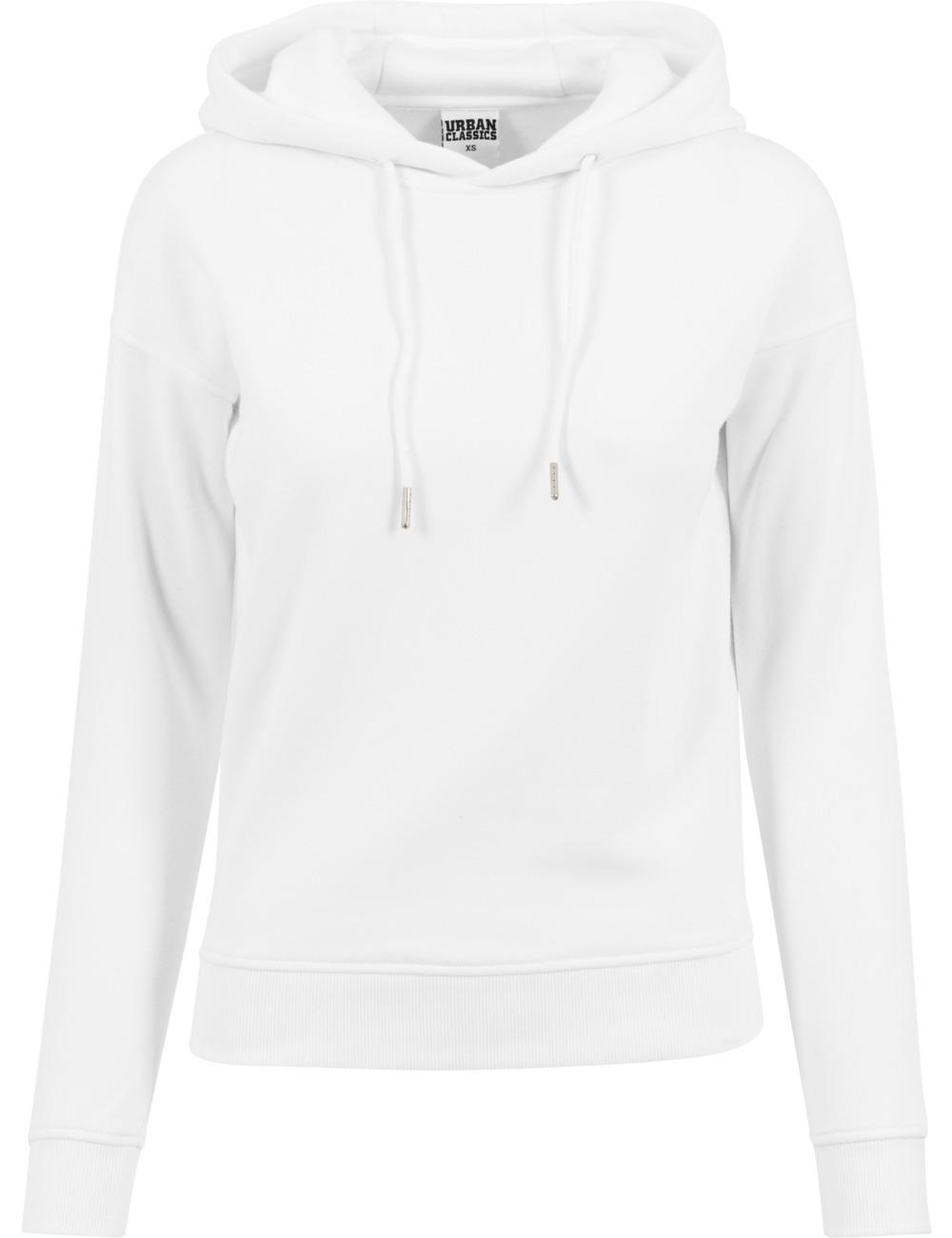 Urban Classics Damen Sweater Hoody L, White (20220)
