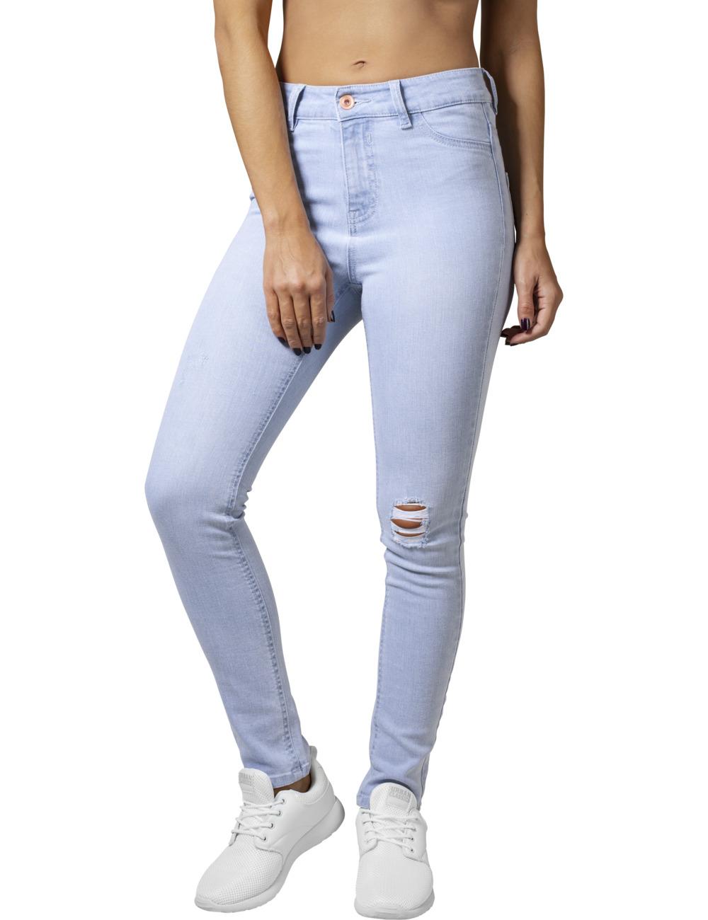 urban classics damen high waist skinny denim pants kaufen jeans direct de. Black Bedroom Furniture Sets. Home Design Ideas