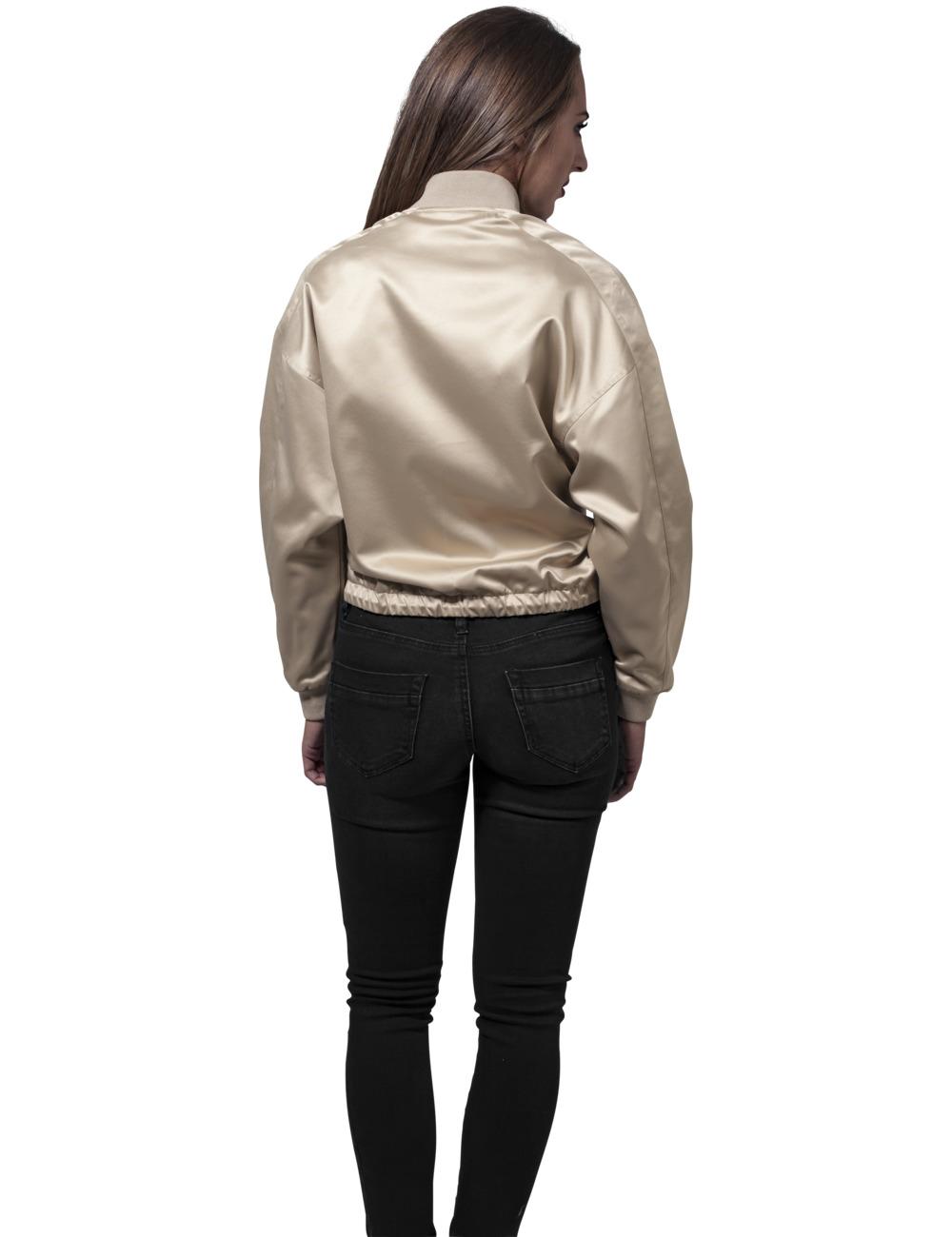Urban classics damen satin kimono blouson kaufen jeans - Kimono jacke damen ...