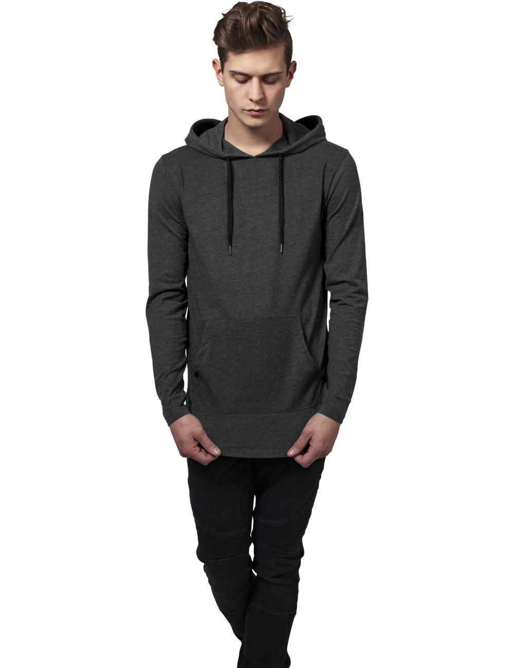 Urban Classics Herren Kapuzensweater Jersey Hoody XL, Charcoal (091)