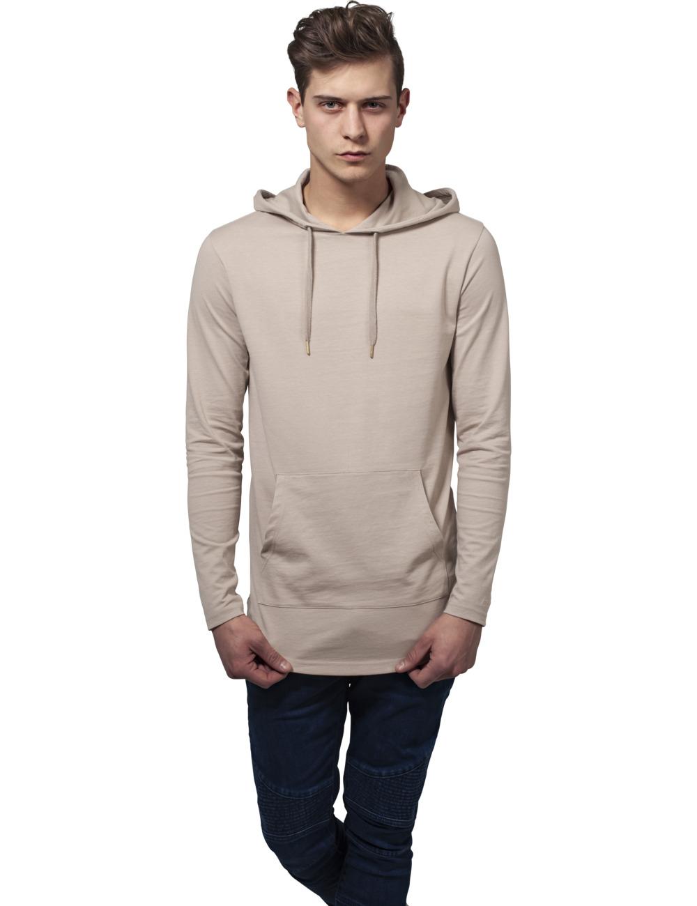 Urban Classics Herren Kapuzensweater Jersey Hoody XXL, Sand (208)