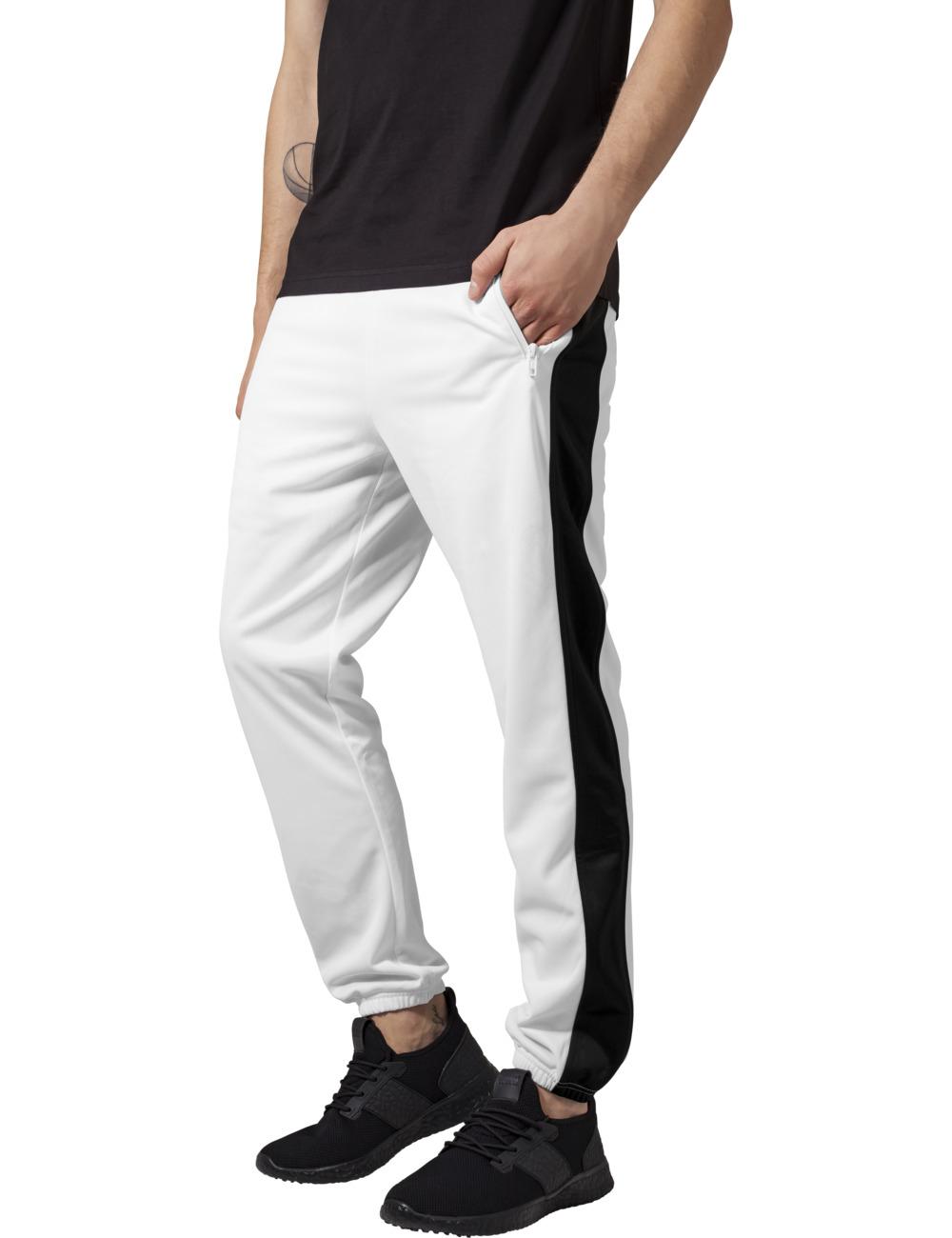 Urban Classics Herren Sweatpants Track XL, wht/blk (224)