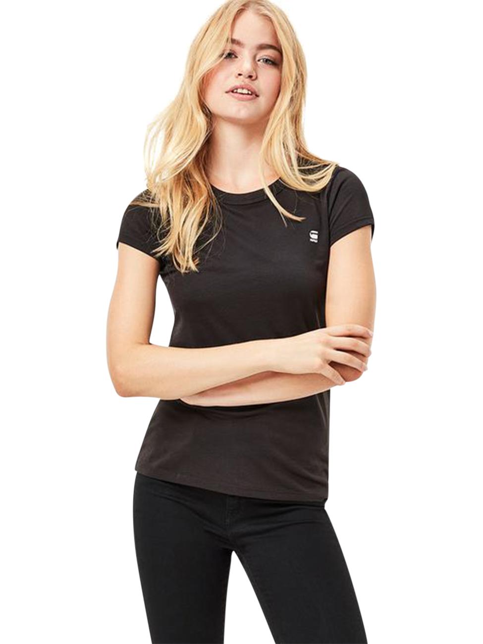 g star damen t shirt eyben slim fit kaufen jeans direct de. Black Bedroom Furniture Sets. Home Design Ideas