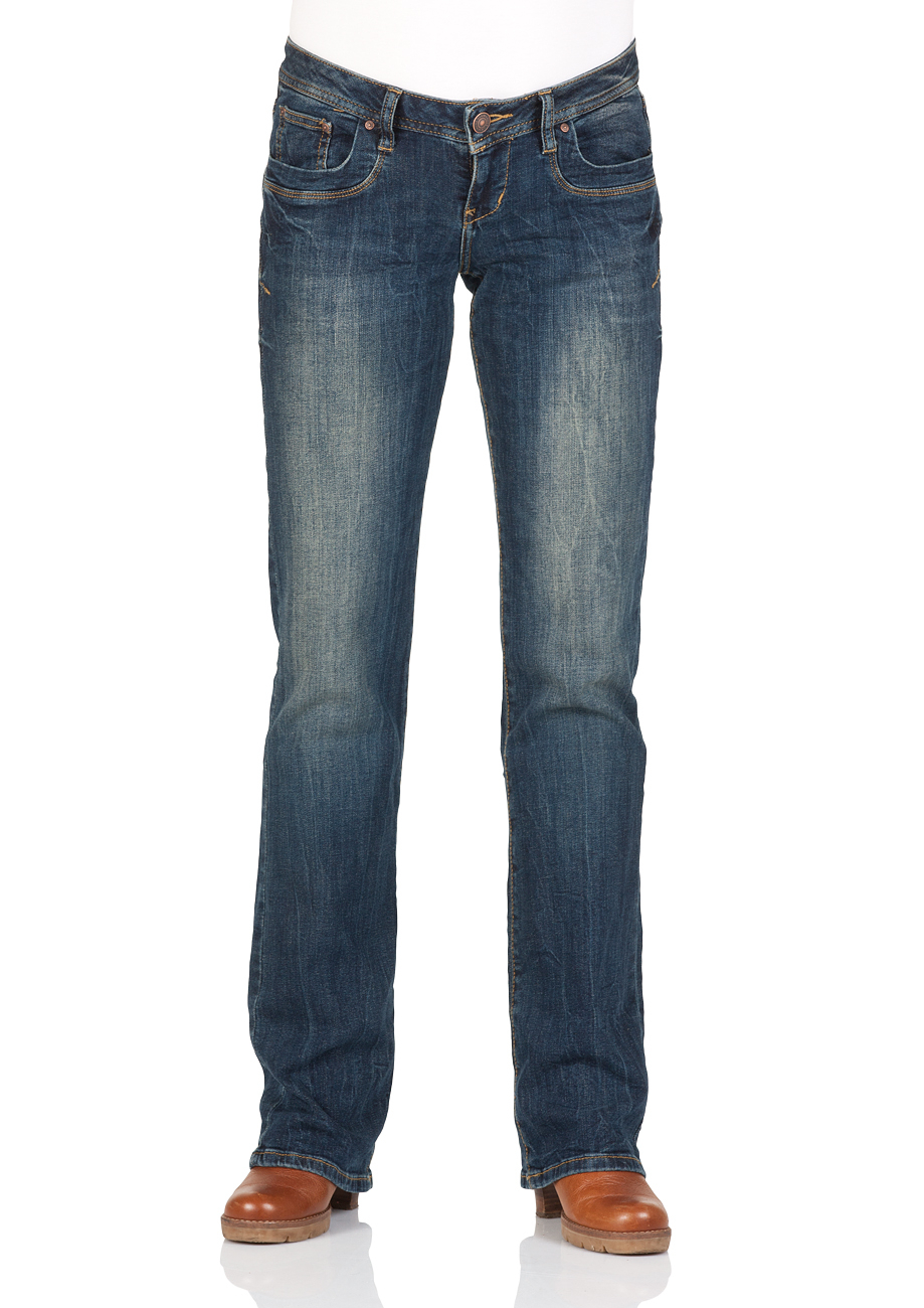 preisvergleich ltb damen jeans valerie bootcut blau mambo willbilliger. Black Bedroom Furniture Sets. Home Design Ideas