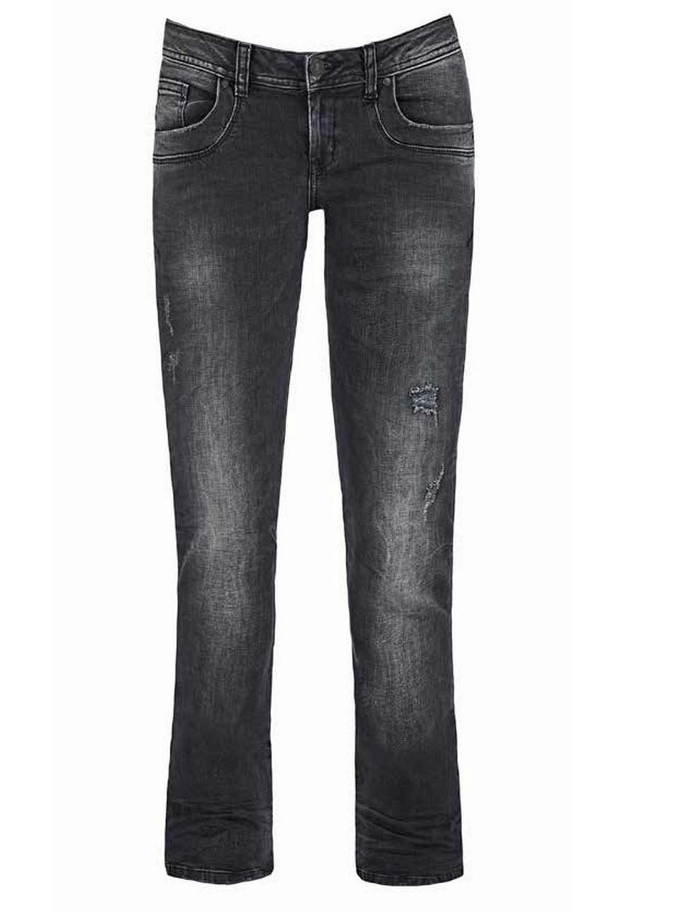 ltb damen jeans valerie bootcut schwarz vista black ebay. Black Bedroom Furniture Sets. Home Design Ideas