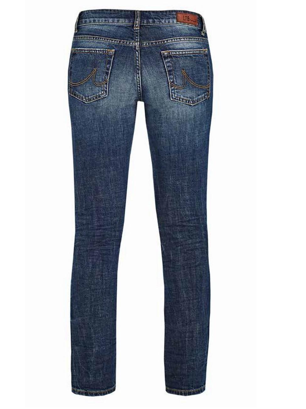 ltb damen jeans aspen regular slim straight blau lasson wash kaufen jeans direct de. Black Bedroom Furniture Sets. Home Design Ideas