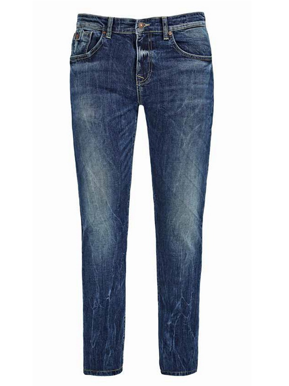 ltb herren jeans joshua slim fit blau troa undamaged. Black Bedroom Furniture Sets. Home Design Ideas