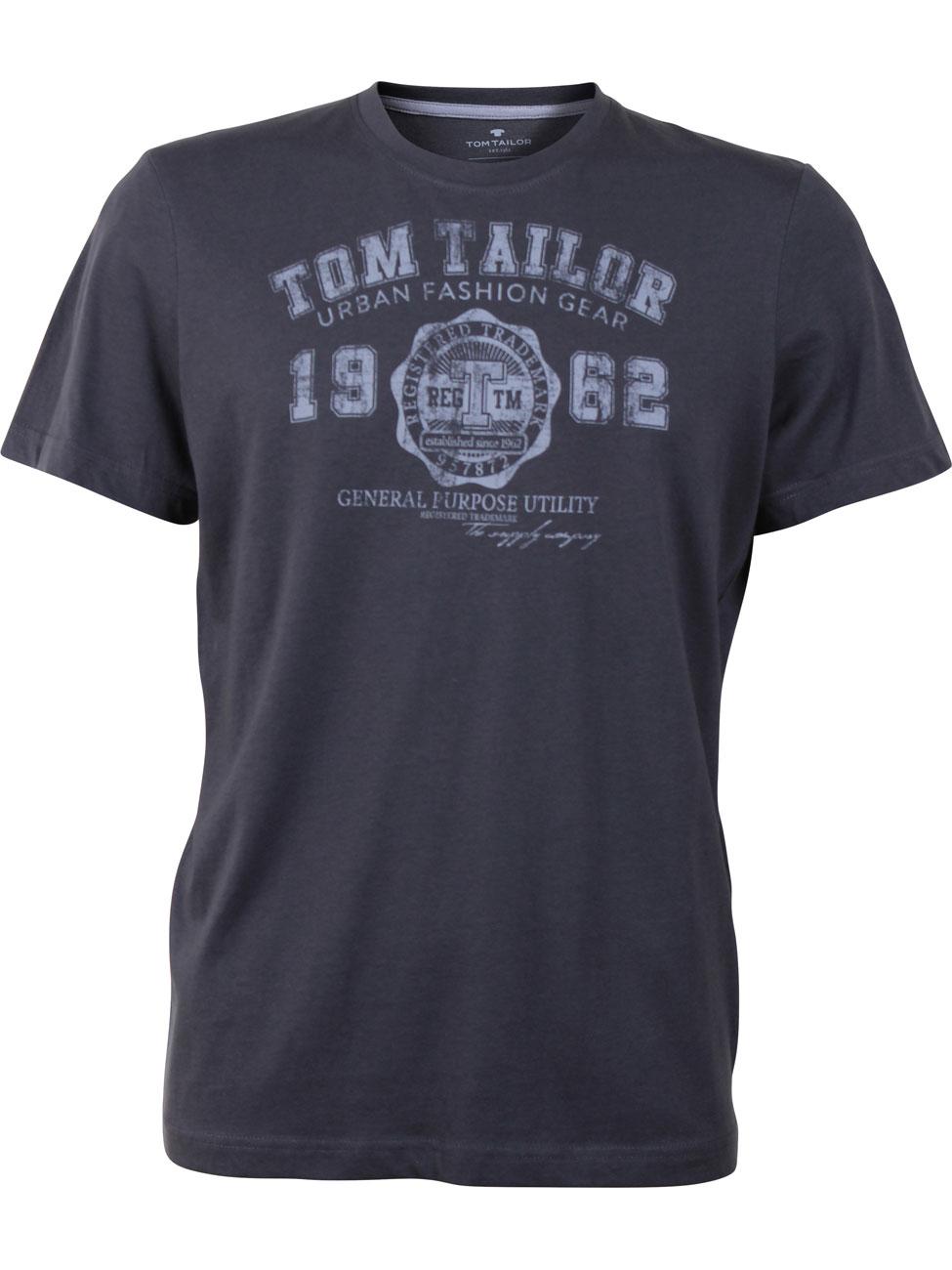 tom tailor herren t shirt logo tee basic kaufen jeans. Black Bedroom Furniture Sets. Home Design Ideas