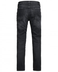 Jack & Jones Herren Jeans JJICLARK JJICON BL 774 50SPS - Regular Fit -  Schwarz -