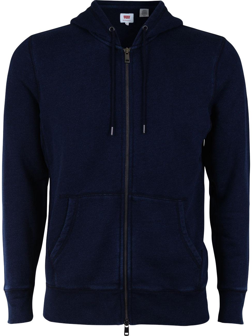 levi 39 s herren kapuzensweater original zip up hoodie 2 ebay. Black Bedroom Furniture Sets. Home Design Ideas