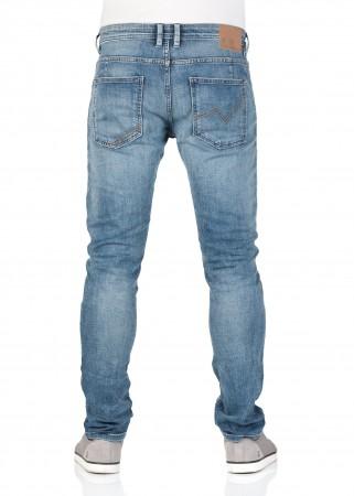 Tom tailor denim men s jeans piers - super slim fit - blue - light stone  wash 426ae07c8d