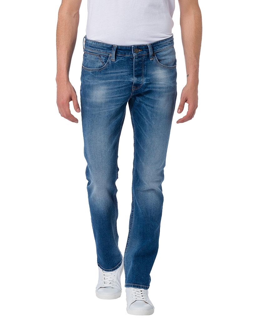 cross herren jeans dylan regular fit blau mid blue kaufen jeans direct de. Black Bedroom Furniture Sets. Home Design Ideas