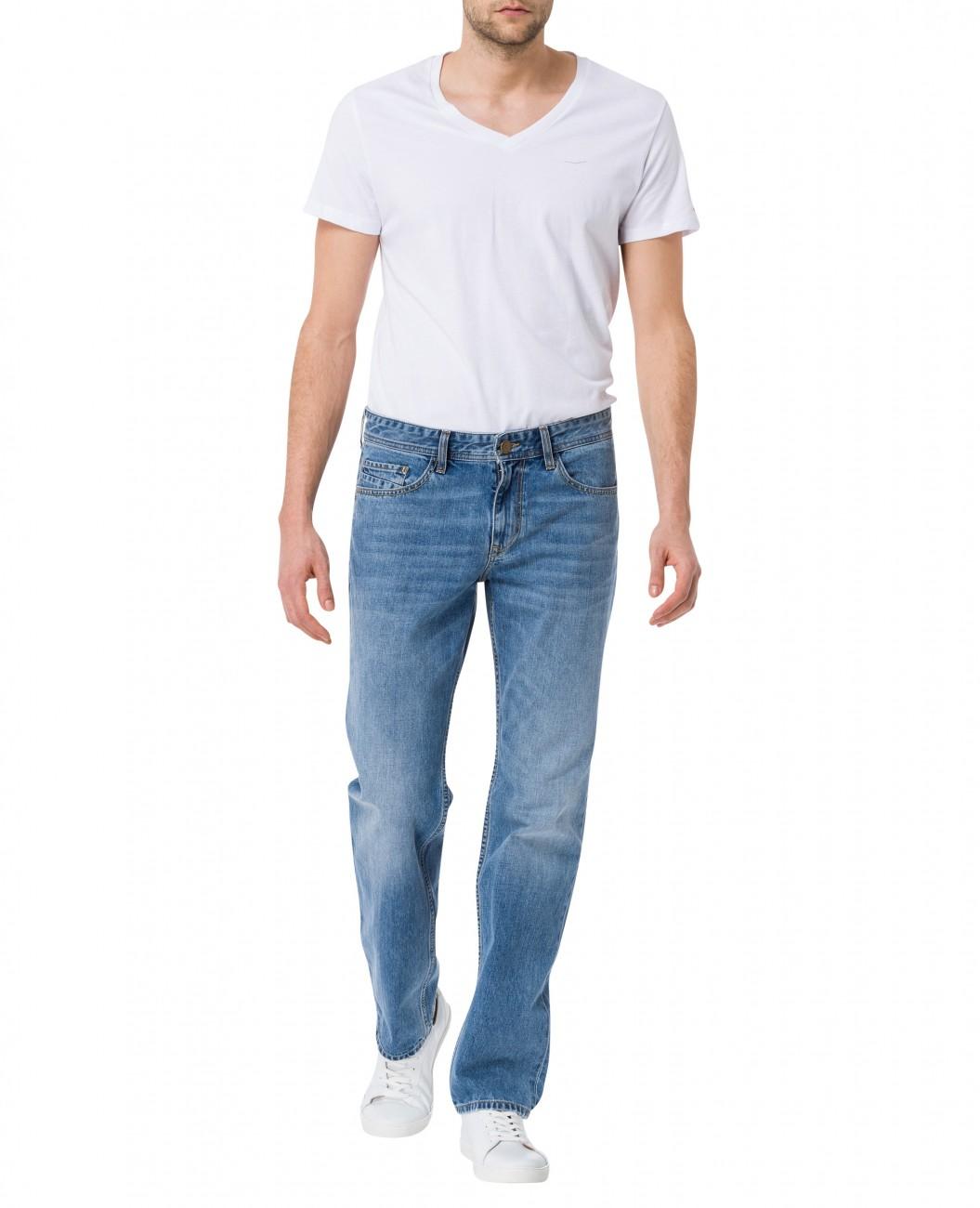 cross herren jeans antonio relax fit blau light blue ebay. Black Bedroom Furniture Sets. Home Design Ideas