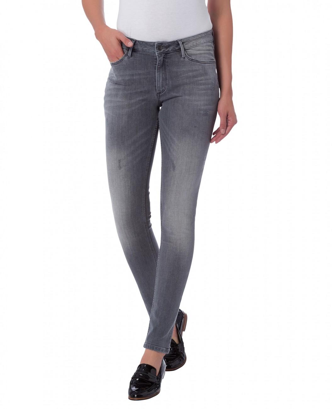 cross damen jeans alan skinny fit grau grey used kaufen jeans direct. Black Bedroom Furniture Sets. Home Design Ideas