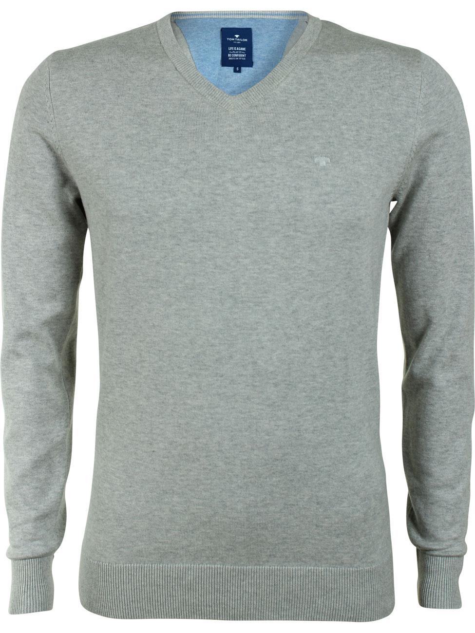 tom tailor herren pullover basic v neck sweater kaufen jeans direct. Black Bedroom Furniture Sets. Home Design Ideas