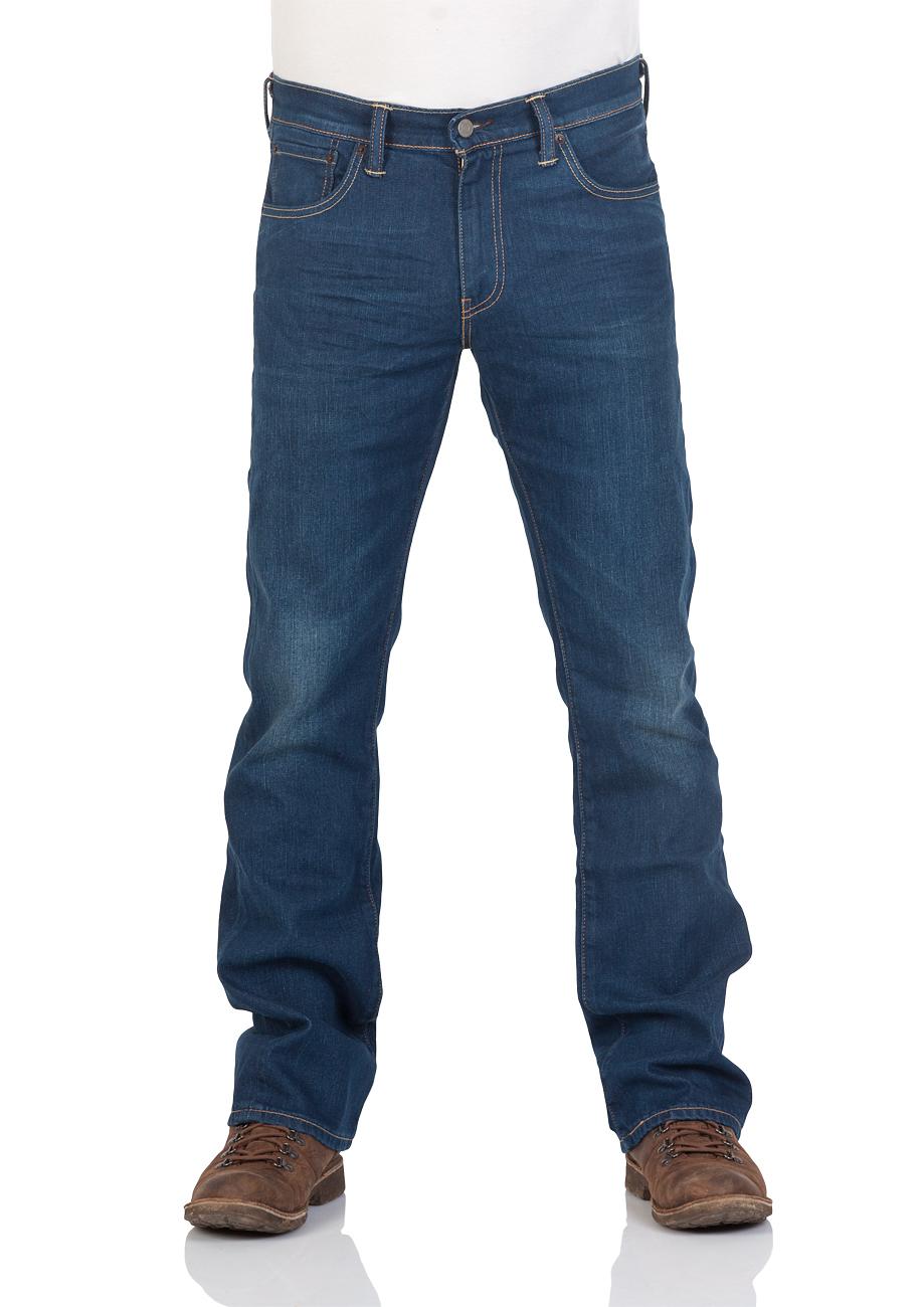 levi 39 s herren jeans 527 bootcut blau festival rain. Black Bedroom Furniture Sets. Home Design Ideas