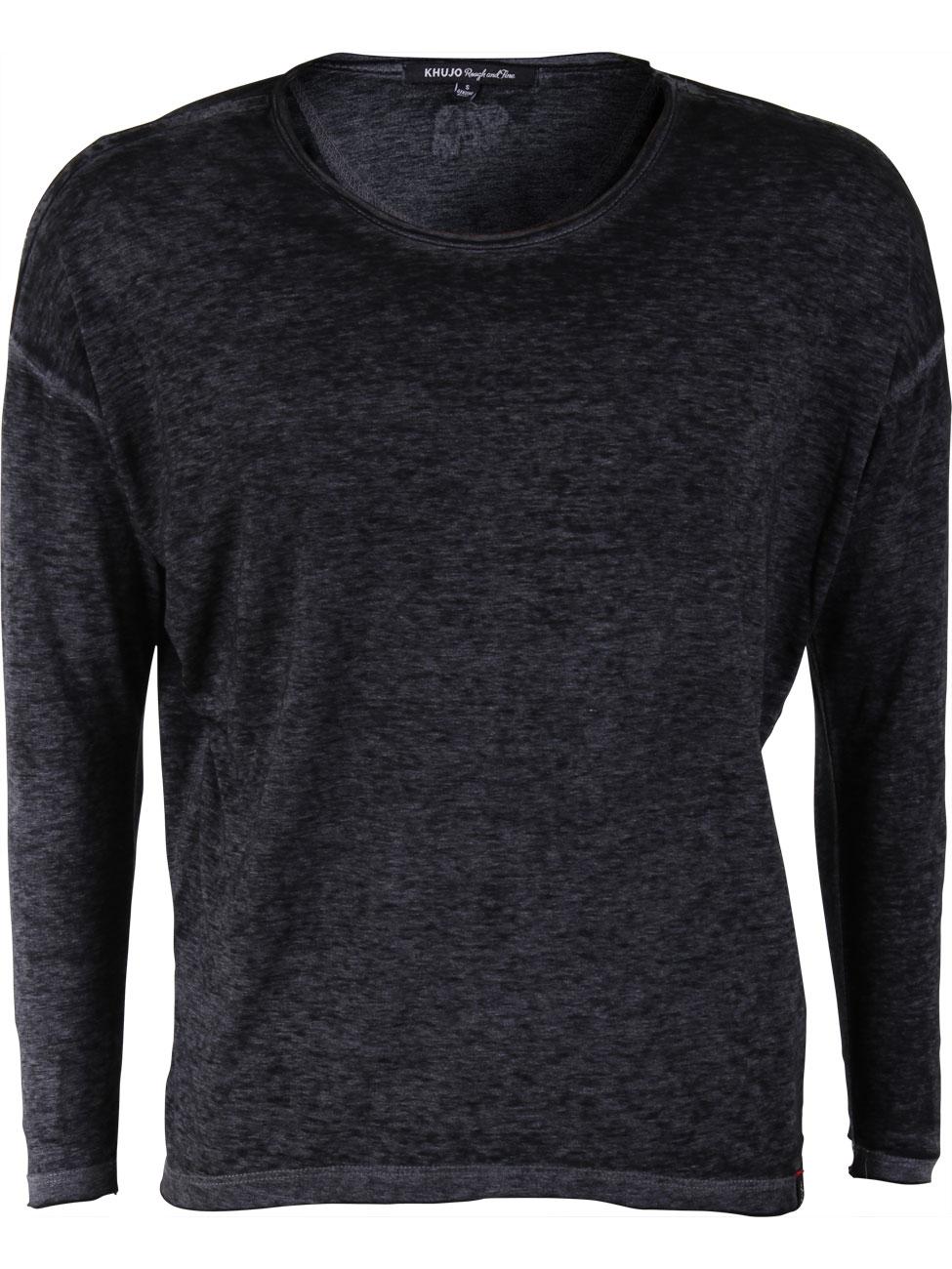 khujo damen langarm shirt ariana kaufen jeans direct de. Black Bedroom Furniture Sets. Home Design Ideas