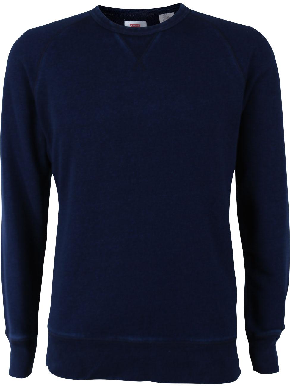 levi 39 s herren sweater original crew 3 ebay. Black Bedroom Furniture Sets. Home Design Ideas