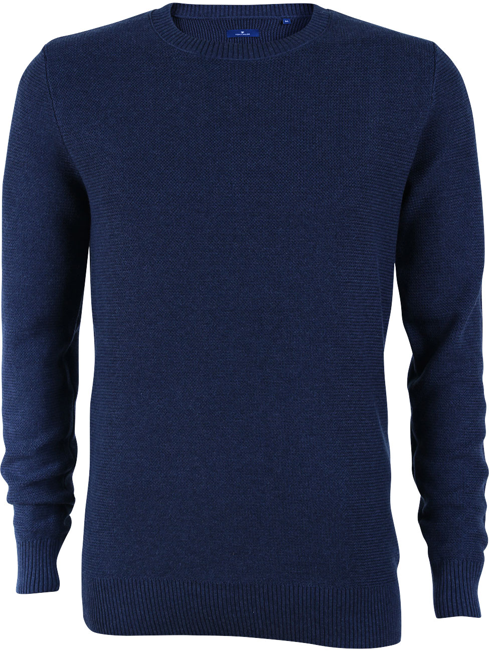 tom tailor herren pullover modern basic crew neck ebay. Black Bedroom Furniture Sets. Home Design Ideas