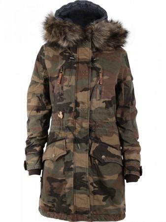 Khujo mantel camouflage