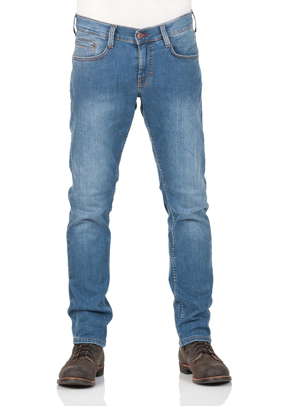mustang herren jeans oregon tapered fit blau light blue dark blue kaufen jeans direct de. Black Bedroom Furniture Sets. Home Design Ideas