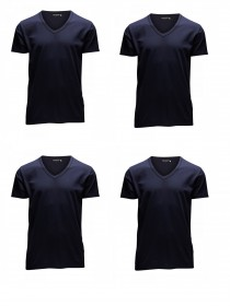 Navy Blue (12059219) - V-Neck