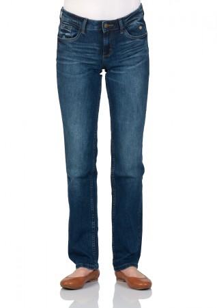 tom tailor damen jeans straight alexa straight fit blau mid stone wash ebay. Black Bedroom Furniture Sets. Home Design Ideas