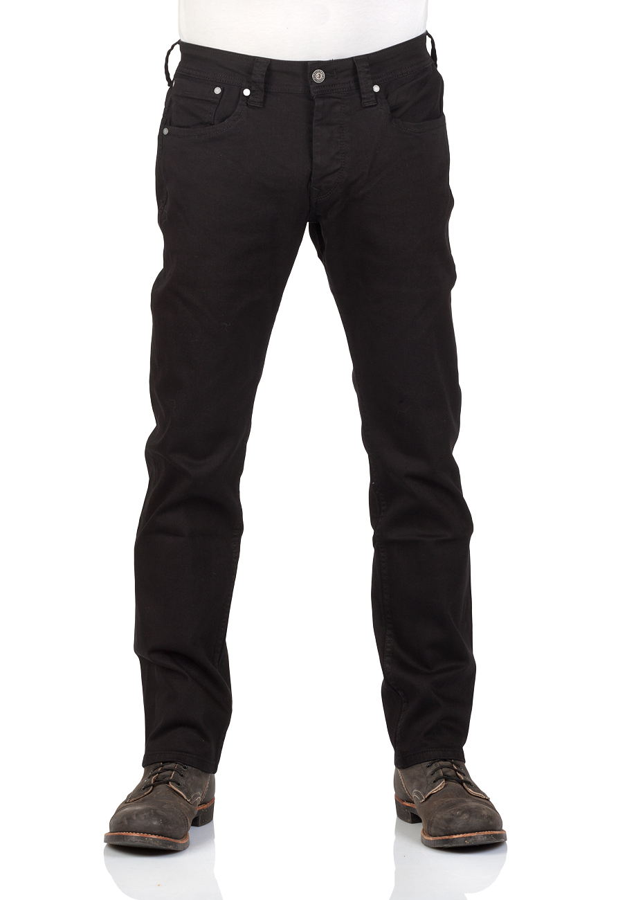 pepe jeans herren jeans cash regular fit schwarz black denim ebay. Black Bedroom Furniture Sets. Home Design Ideas
