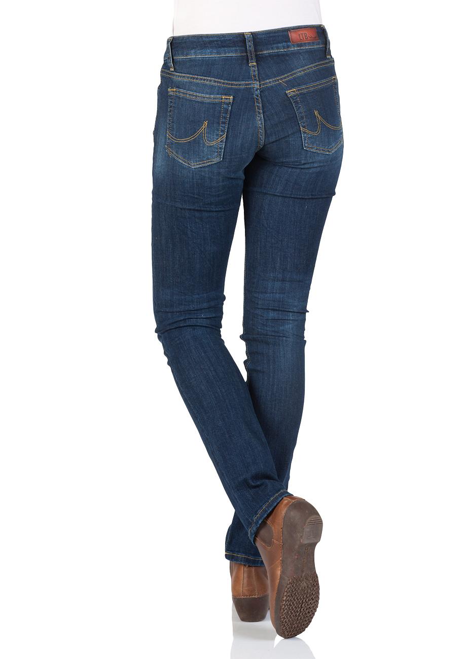 ltb damen jeans aspen regular slim straight blau meryl wash kaufen jeans direct de. Black Bedroom Furniture Sets. Home Design Ideas