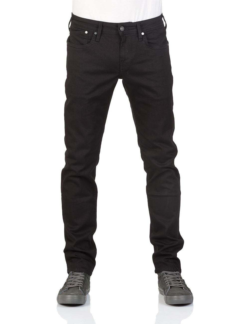 pepe jeans herren jeans hatch slim fit schwarz black ebay. Black Bedroom Furniture Sets. Home Design Ideas