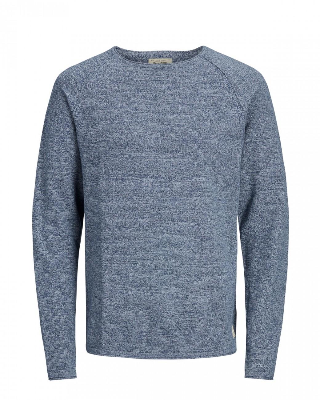 jack jones herren pullover jorunion knit crew neck. Black Bedroom Furniture Sets. Home Design Ideas