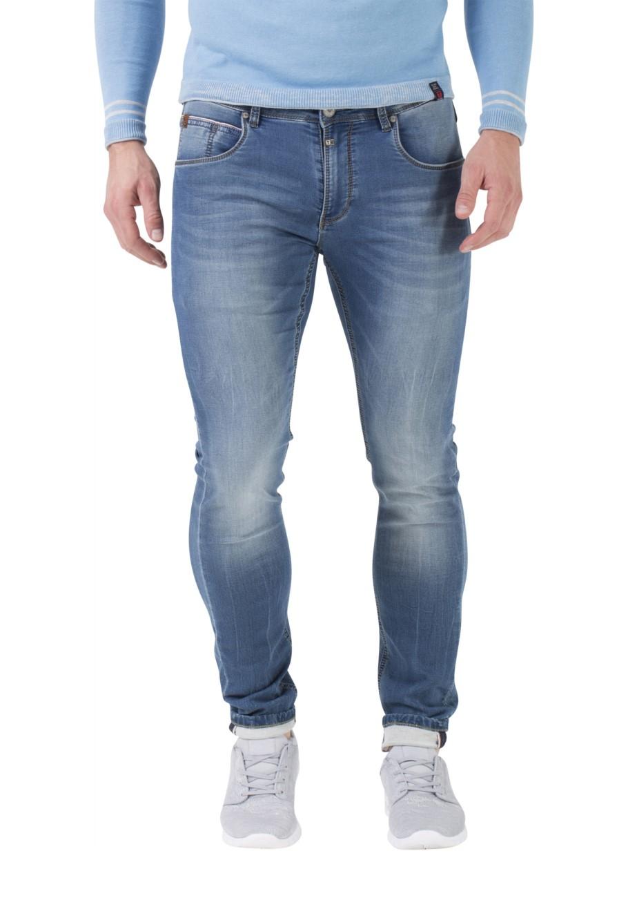 timezone herren jeans slim scott slim fit blau miami. Black Bedroom Furniture Sets. Home Design Ideas