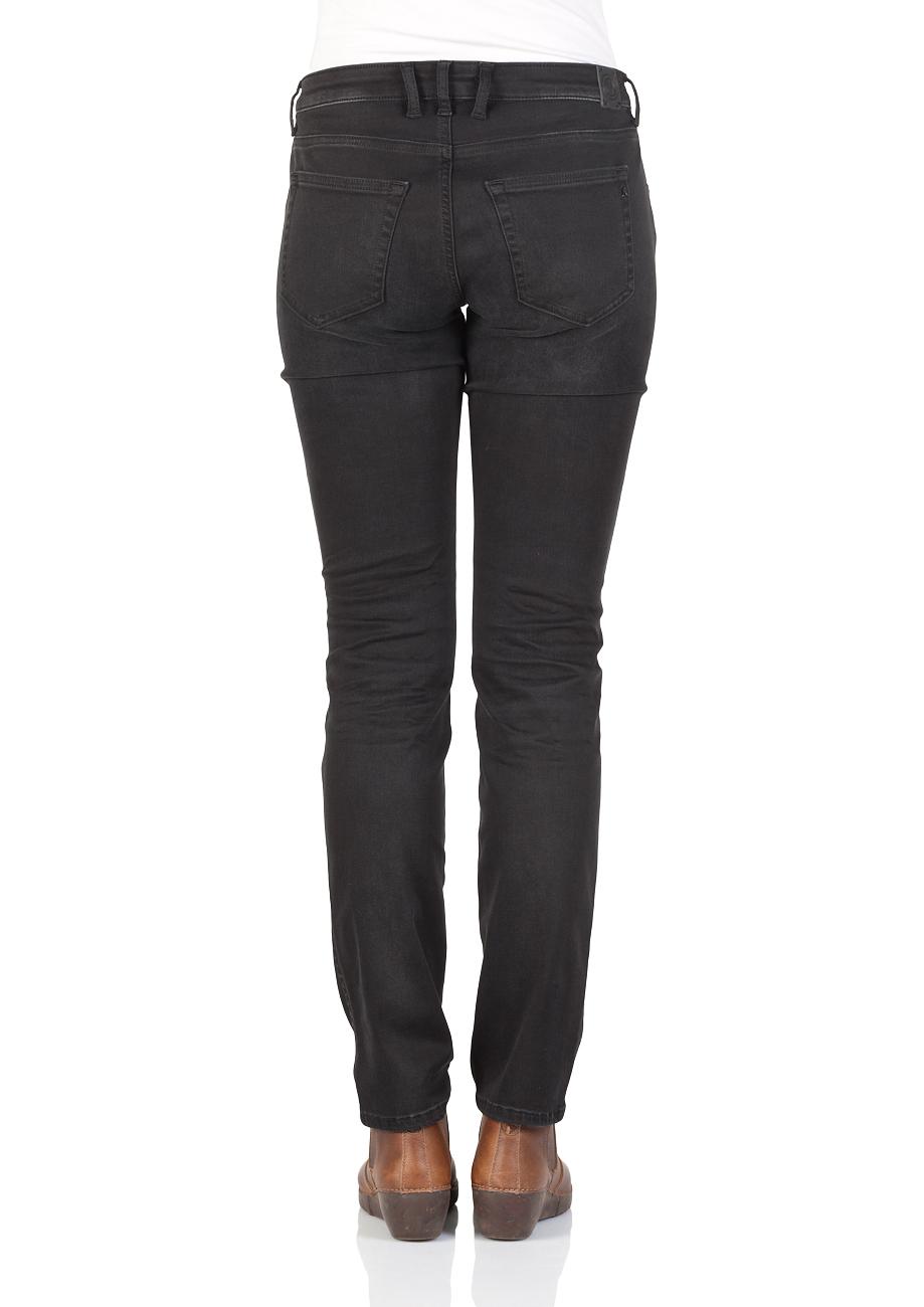 replay damen jeans katewin slim fit schwarz black. Black Bedroom Furniture Sets. Home Design Ideas