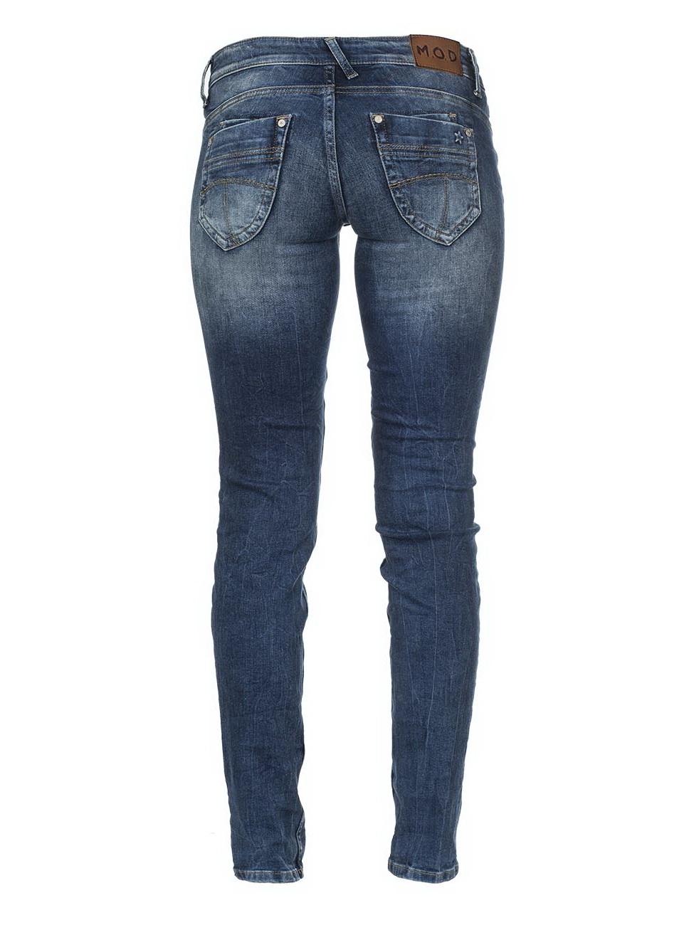 m o d damen jeans alice regular regular fit blau maryland blue kaufen jeans direct de. Black Bedroom Furniture Sets. Home Design Ideas