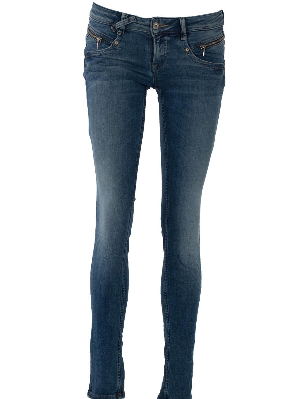 m o d damen jeans maria slim fit blau douala blue kaufen jeans direct de. Black Bedroom Furniture Sets. Home Design Ideas