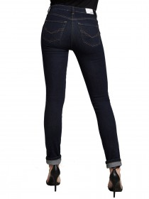 758d7cc75146 ... Marylin - slim fit - high waist - blue - pure rinse wash. H.I.S.  women s jeans with narrow legs history and high waist cotton blend in the  5-Pocket- ...