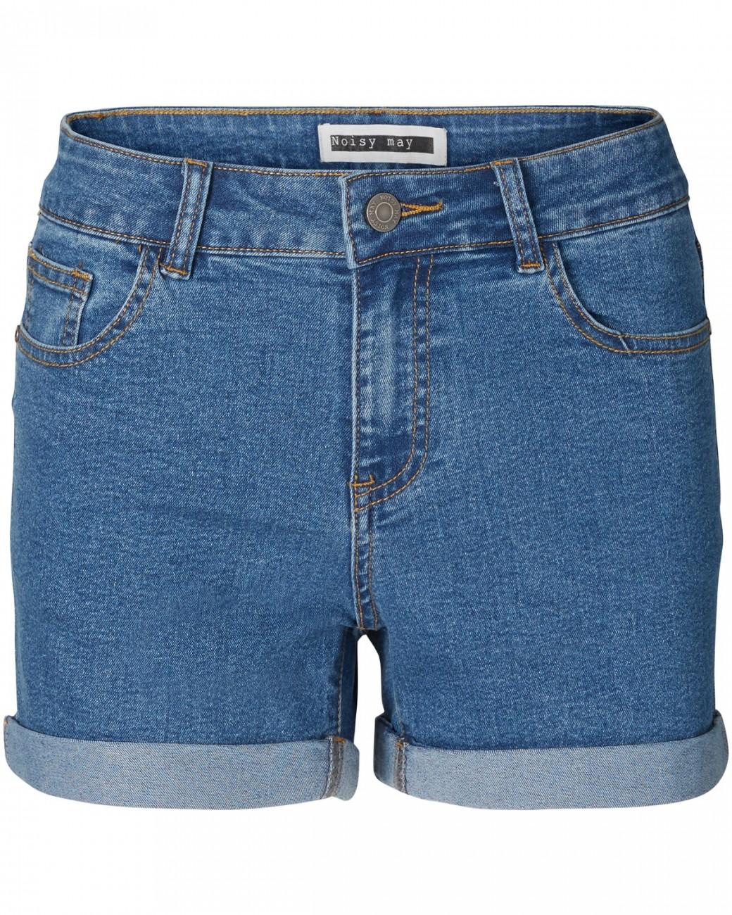 Noisy May Damen Denim Shorts NMBE LUCY NW DEN FOLD GU814