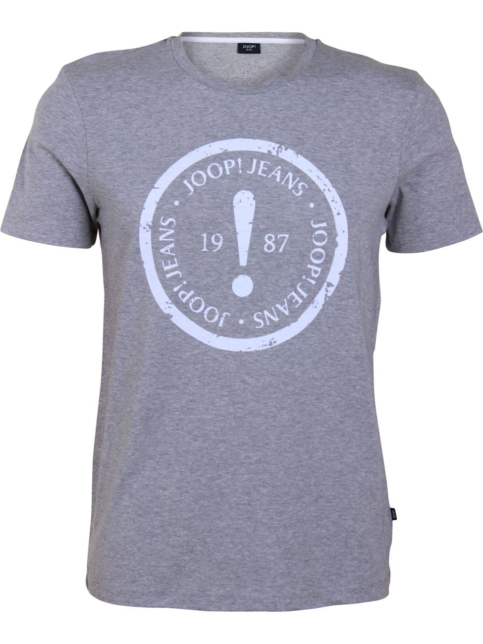 Joop! Herren Rundhals T-Shirt Colin mit Print - Modern Fit