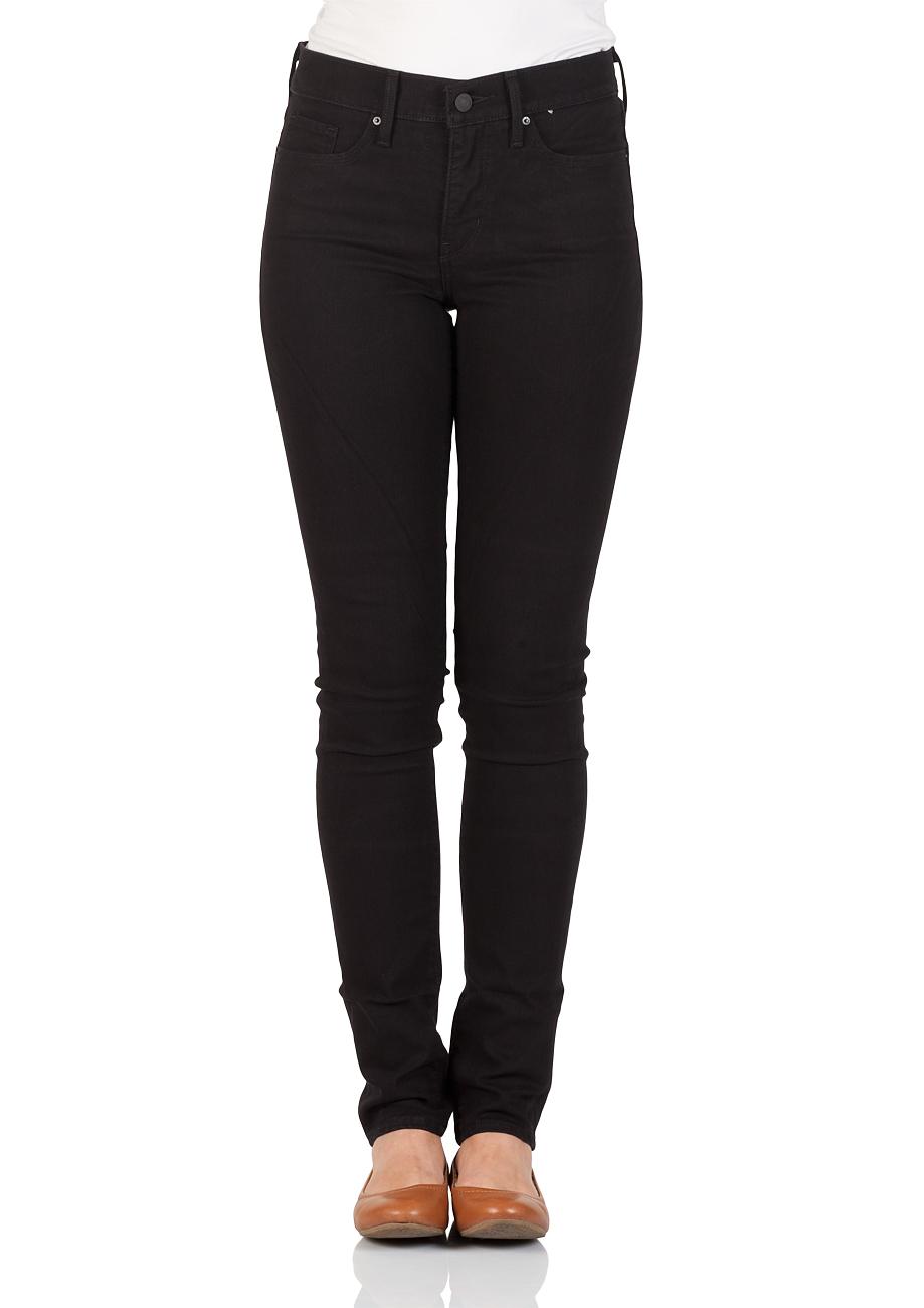 levis damen jeans 311 shaping skinny fit schwarz black sheep ebay. Black Bedroom Furniture Sets. Home Design Ideas
