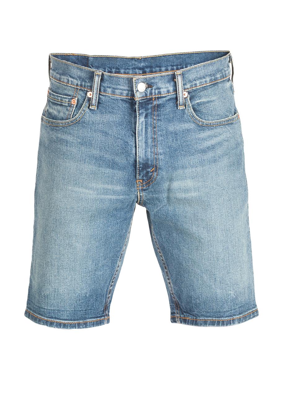 levis herren jeans short 502 taper hemmed blau hood short ebay. Black Bedroom Furniture Sets. Home Design Ideas